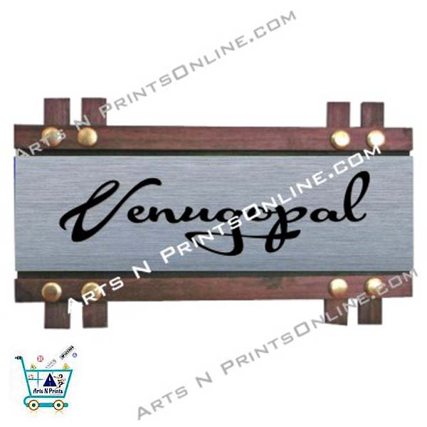 venugopal house name plate