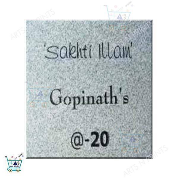 granite name plates online in bangalore